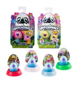 Kit-Mini-Figuras-Surpresas---Hatchimals-Colleggtibles---Series-2-e-3-e-4-Cores-Hatchimals---Mostre-Seu-Brilho---Sunny