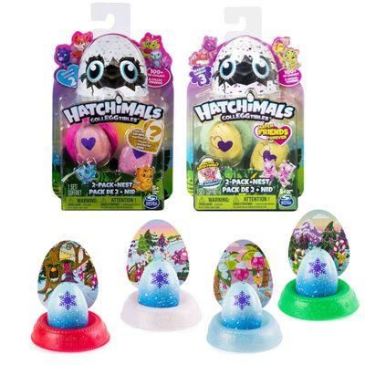 Kit-Mini-Figuras-Surpresas---Hatchimals-Colleggtibles---Series-2-e-3-e-4-Cores-Hatchimals---Mostre-Seu-Brilho---Sunny
