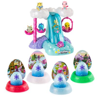 Kit-Mini-Figura-Surpresa---Hatchimals-Hatchibabies----Cascata-Iluminada-e-4-Cores-Hatchimals-Mostre-Seu-Brilho---Sunny