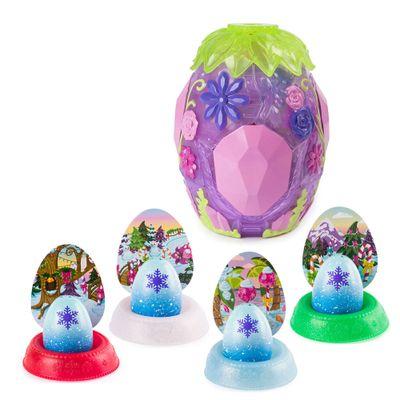 Kit-Mini-Figura-Surpresa---Hatchimals-Hatchibabies----Cena-Secreta-e-4-Cores-Hatchimals-Mostre-Seu-Brilho---Sunny