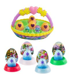 Kit-Mini-Figura-Surpresa---Hatchimals-Hatchibabies-e-4-Cores-Hatchimals-Mostre-Seu-Brilho---Sunny