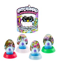 Kit-Mini-Figura-Surpresa---Hatchimals-Hatchibabies---Ponette-e-4-Cores-Hatchimals-Mostre-Seu-Brilho---Sunny