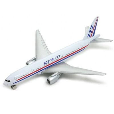 Mini-Aviao-Welly---12Cm---Boeing-777---California-Toys