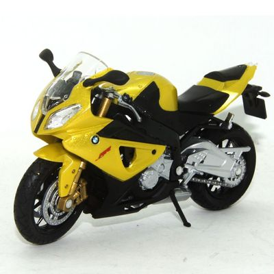 Mini-Moto-Cycle---Escala-1-18---BMW-S1000RR---California-Toys