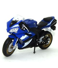 Mini-Moto-Cycle---Escala-1-18---Yamaha-YZF-R1---California-Toys