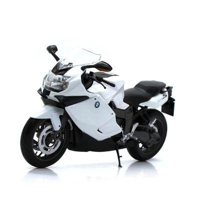 Mini-Moto-Welly---Escala-1-10---BMW-K1300S---California-Toys-I33S