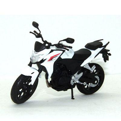 Mini-Moto-Welly---Escala-1-10---Honda-CB500F---California-Toys