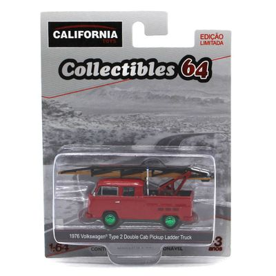 Mini-Veiculo-Collectibles64---Escala-1-64---Ladder-Truck-GM---California-Toys