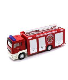 Mini-Veiculo-JR-Truck---Escala-1-32---Caminhao-de-Bombeiro---Califonia-Toys