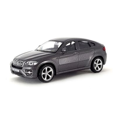 Mini-Veiculo-Junior---Escala-1-43---BMW-X6---Cinza---California-Toys