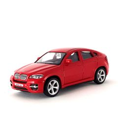 Mini-Veiculo-Junior---Escala-1-43---BMW-X6---Vermelho---California-Toys