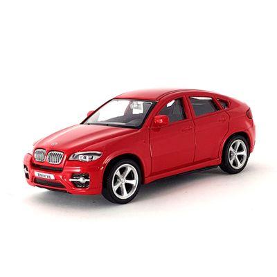 Mini-Veiculo-Junior---Escala-1-43---BMW-X6---Vermelho---California-Toys