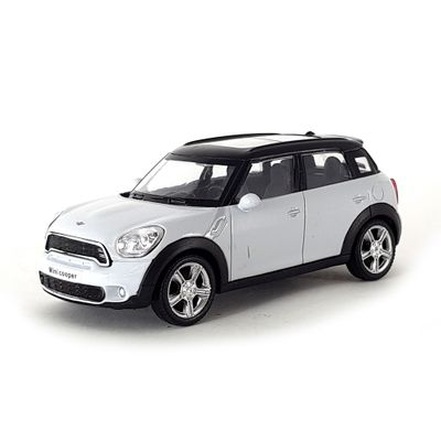 Mini-Veiculo-Junior---Escala-1-43---Mini-Cooper-S-Countryman---Branco---California-Toys