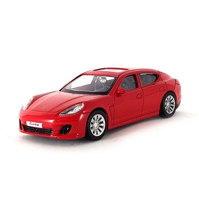 Mini-Veiculo-Junior---Escala-1-43---Porsche-Panamera-Turno---Vermelho---California-Toys