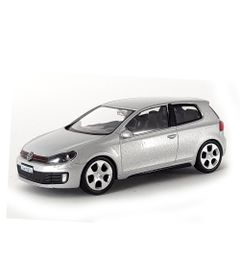 Mini-Veiculo-Junior---Escala-1-43---Volkswagen-Golf-GTI---Prata---California-Toys