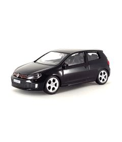 Mini-Veiculo-Junior---Escala-1-43---Volkswagen-Golf-GTI---Preto---California-Toys