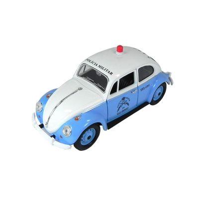 Mini-Veiculo-Collectible---Fusca-Policia-Militar-RJ---Escala-1-24---California-Toys