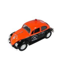 Mini-Veiculo-Collectible---Fusca-Policia-Militar-SP---Escala-1-24---California-Toys