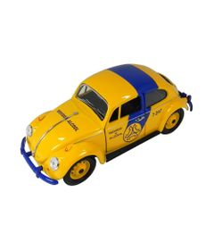 Mini-Veiculo-Collectible---Fusca-Policia-Telesp---Escala-1-24---California-Toys