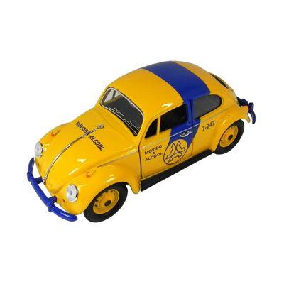Mini-Veiculo-Collectible---Fusca-Policia-Telesp---Escala-1-24---California-Toys