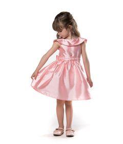 Vestido-de-Festa---Ombro-a-Ombro---Poliester---Rosa---Malagah---1