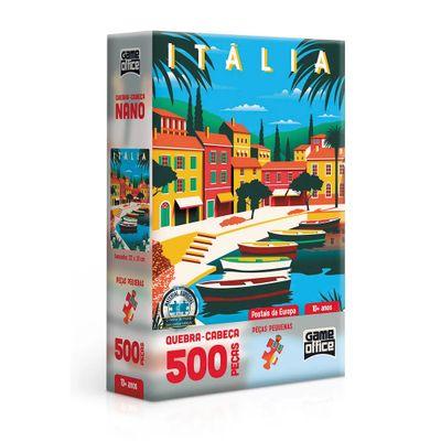 quebra-cabeca-500-pecas-cartoes-postais-da-europa-italia-game-office-toyster2616_frente