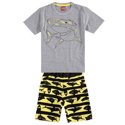 conjunto-camiseta-e-bermuda-em-meia-malha-e-microfibra-tubarao-mescla-kyly10954300201_frente