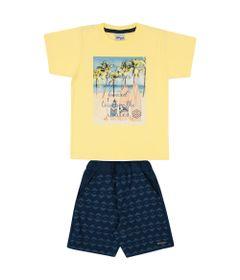 Conjunto-Surf---Blusa-Meia-Malha-e-Bermuda-Sarja---Amarelo_Frente