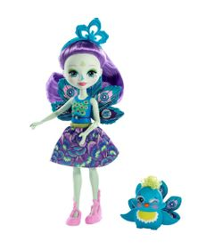 boneca-fashion-e-pet-enchantimals--patter-peacock-e-flap-mattel-DVH87-FXM74_Frente