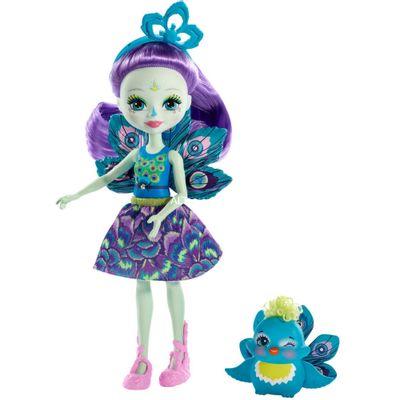 boneca-fashion-e-pet-enchantimals--patter-peacock-e-flap-mattel-DVH87-FXM74_Frente