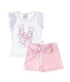Conjunto-Chic---Blusa-Branca-e-Short-Rosa---Livy-Malhas_Frente