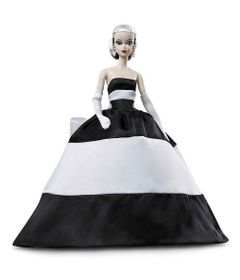 boneca-barbie-colecionavel-barbie-signature-black-and-white-forever-mattel-FXF25_frente