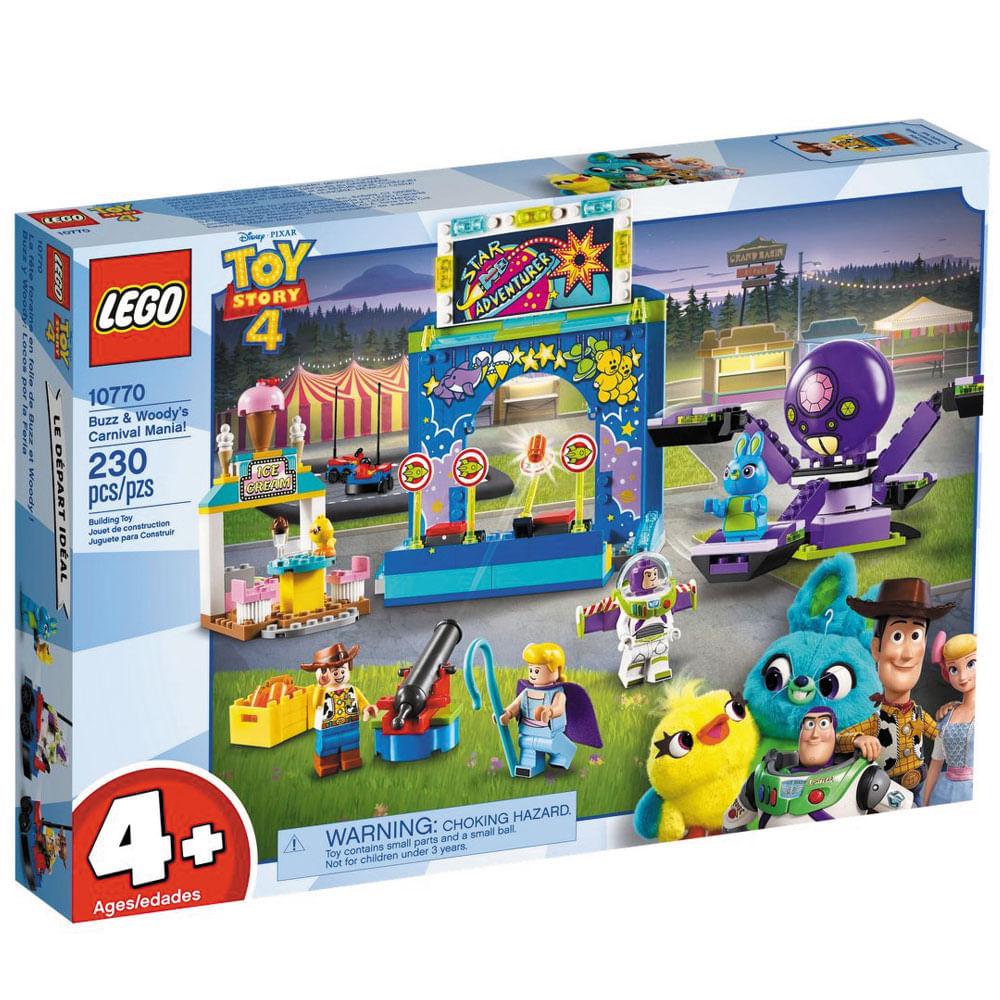 LEGO Juniors - Disney - Toy Story 4 - Parque de Diversões do Buzz e Woody - 10770
