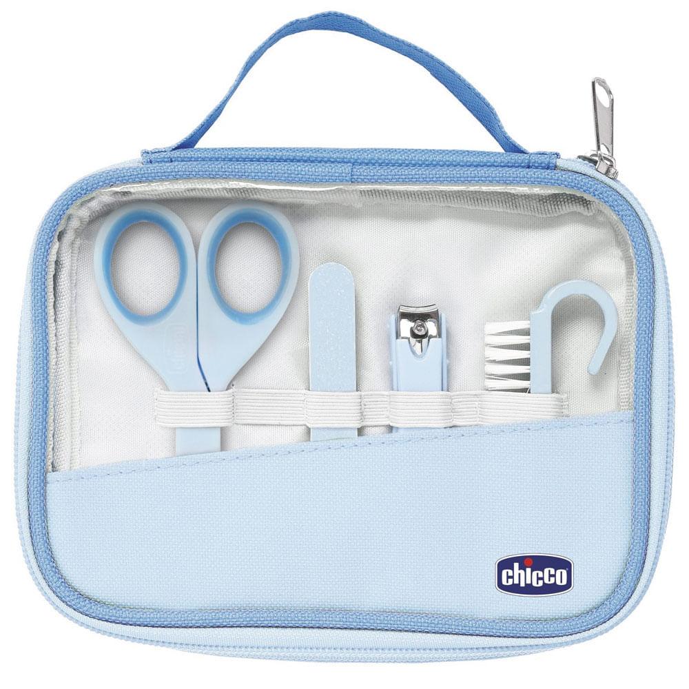 Conjunto de Higiene - 4 Peças - Azul - Chicco