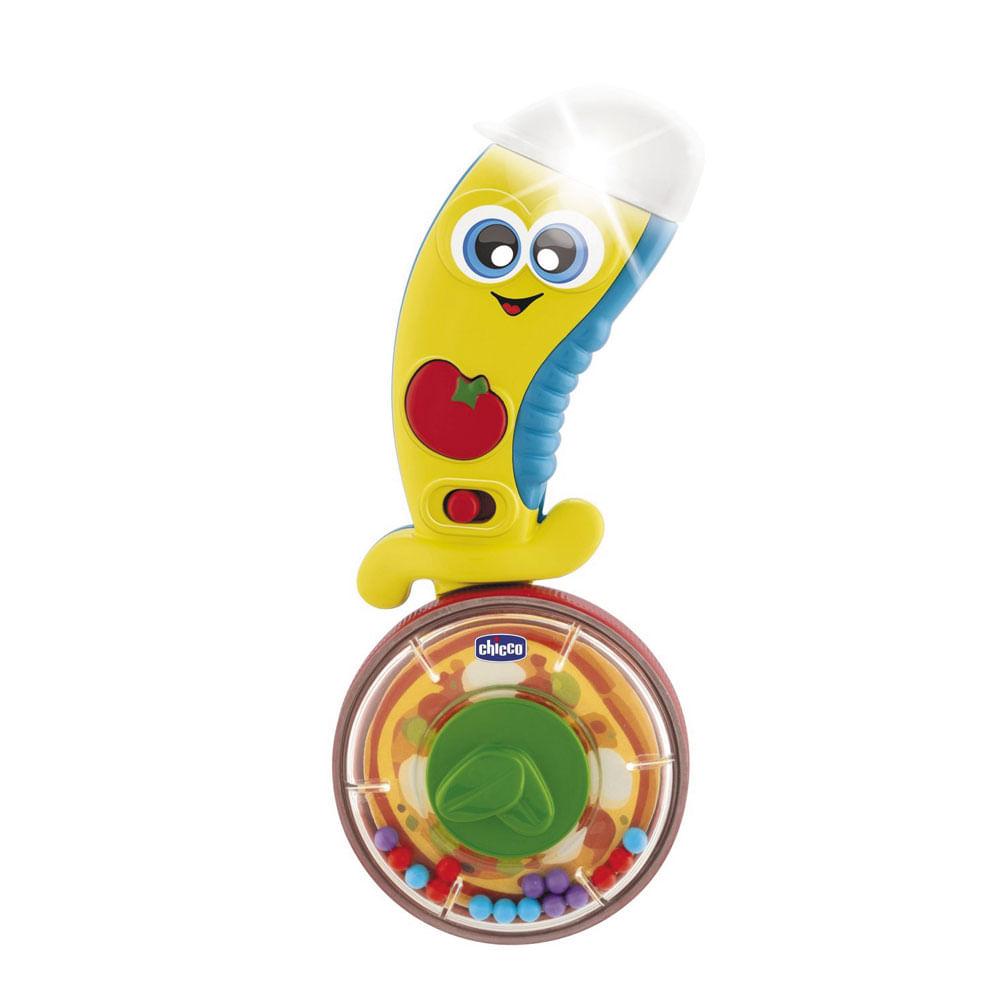 Brinquedo de Atividades - Ciro - O Pizzaiolo - Com Luzes e Sons - Chicco