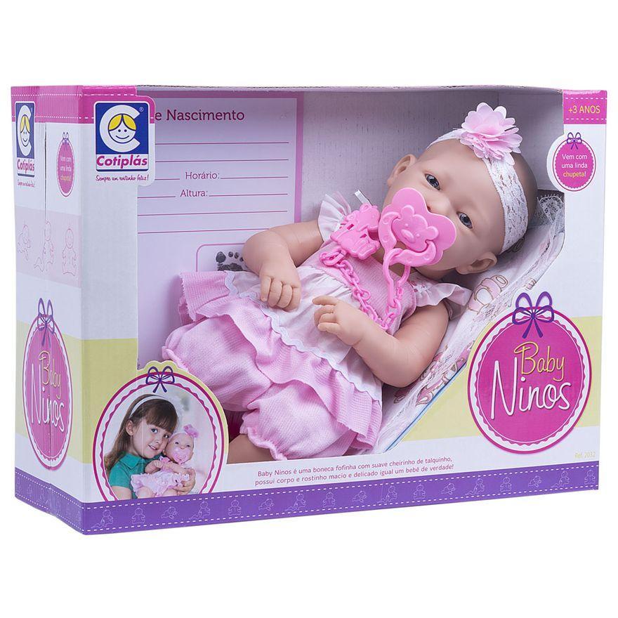 Boneca-Baby-Ninos---Morena---Vestido-Rosa---Cotiplas_Embalagem