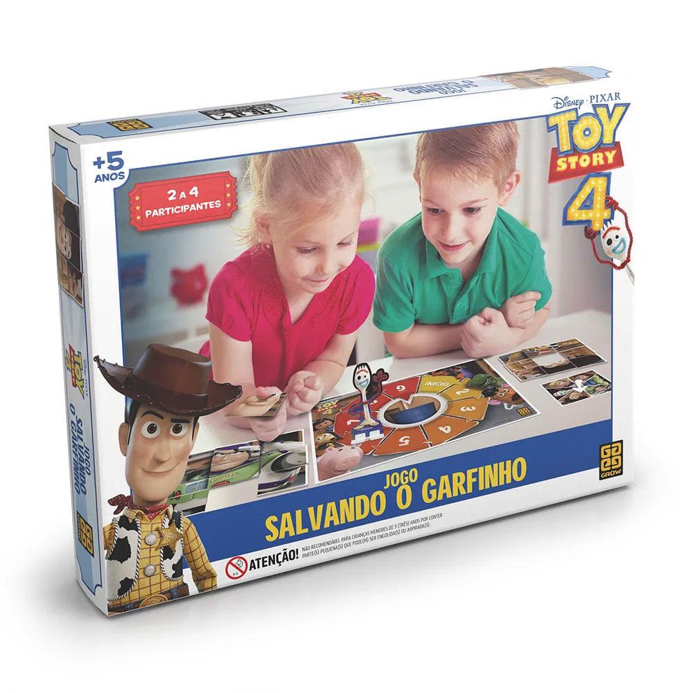 Jogo - Disney - Toy Story 4 - Salvando o Garfinho - Grow