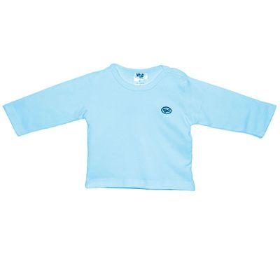 Camiseta-Basica-Manga-Longa-em-Suedine---Azul-Claro---BB2---M