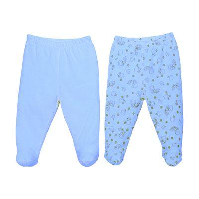 Conjunto-com-2-Calcas-Culote-em-Suedine---Ursinho---Azul---BB2---M