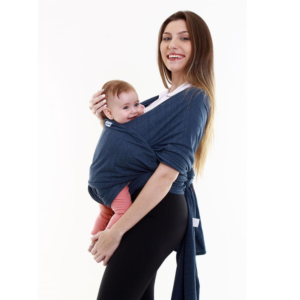 Canguru Sling Wrap - Kababy - Jeans - Kavod
