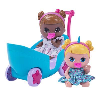 Mini-Bonecas---19Cm---Lil--Dreamsies---Carrinho-de-Passeio---Cotiplas