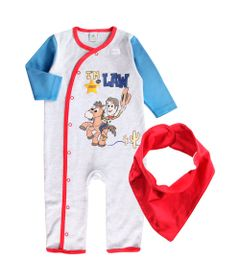 Macacao-Infantil---Disney---Toy-Story-4---100--Algodao---Branco---Disney---P