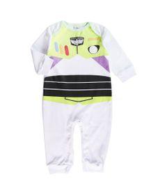 Macacao-Infantil-Estampado---Disney---Toy-Story-4---Buzz-Lightyear---100--Algodao---Branco---Disney---P