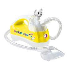 Inalador-Nebulizador-Ultrassonico-Pulmosonic-Star-Premium---Amarelo---Ursinho---Soniclear_Frente