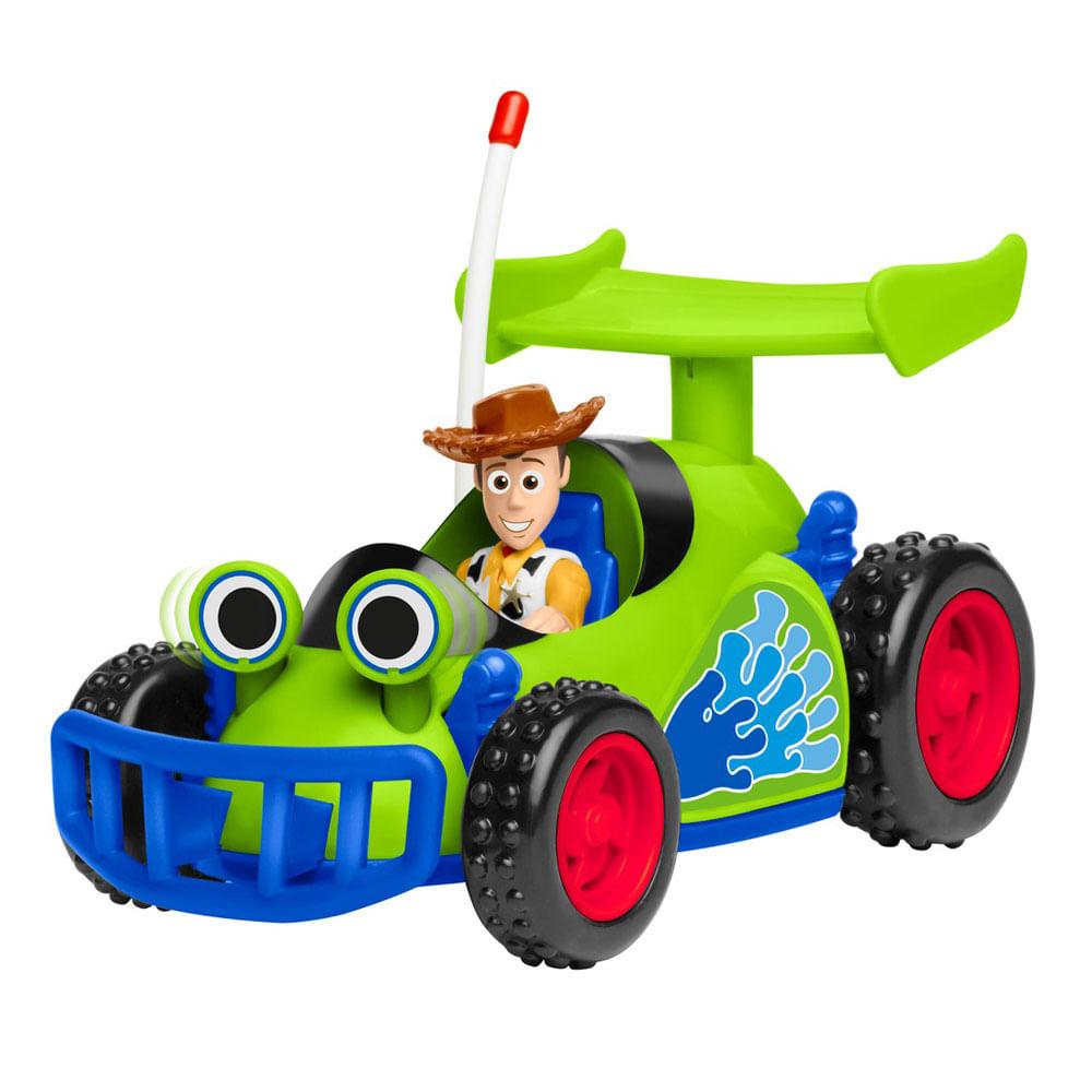 Mini Figura e Veículo - 20 Cm - Wood - Imaginext - Disney - Pixar - Toy Story 4 - Fisher-Price