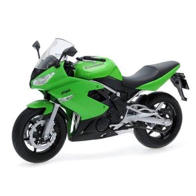 mini-moto-cycle-escala-1-18-kawasaki-verde-california-toys-WEL19660W_Frente