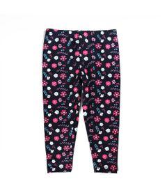 Calca-Legging---Cotton-Floral---Algodao-e-Elastano---Azul-Marinho---Minimi---1