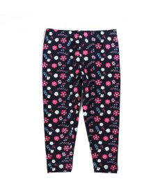 Calca-Legging---Cotton-Floral---Algodao-e-Elastano---Azul-Marinho---Minimi---3