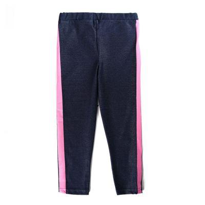 Calca-Legging---Friso-Lateral---Algodao-e-Poliester---Azul-Marinho---Minimi---1