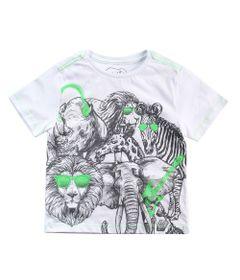 Camisa-Manga-Curta---Animais-Rock-Fluor---100--Algodao---Branco---Minimi---2